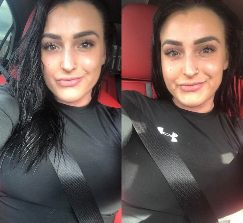 Charlotte selfies love.jpg